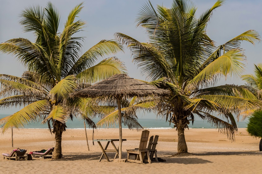 Gambia Beach Setting